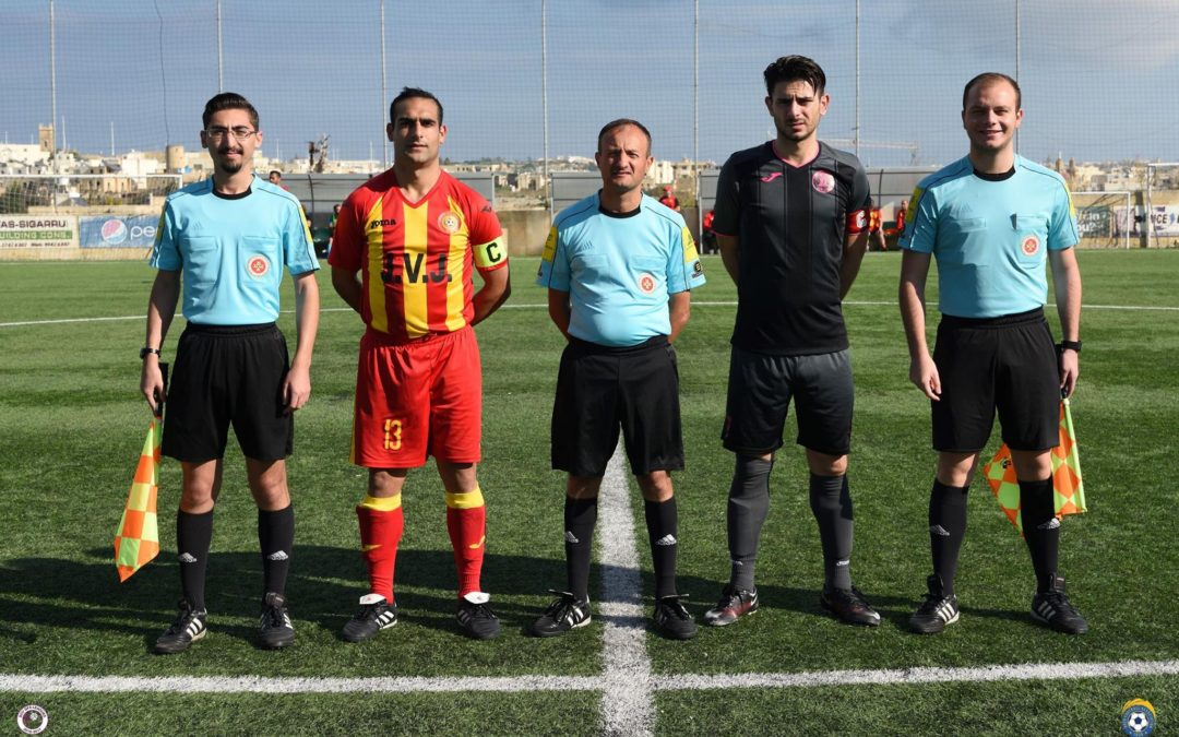 Holders Ghajnsielem qualify to the semi-finals with early goals