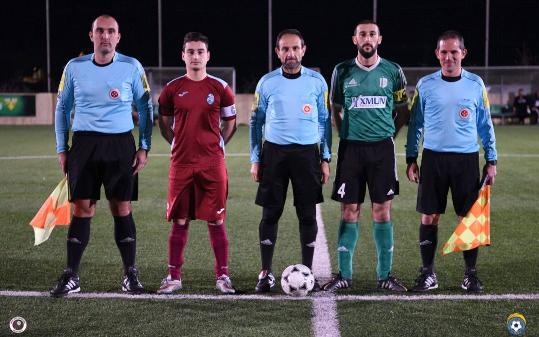 Sannat obtain victory with two late goals