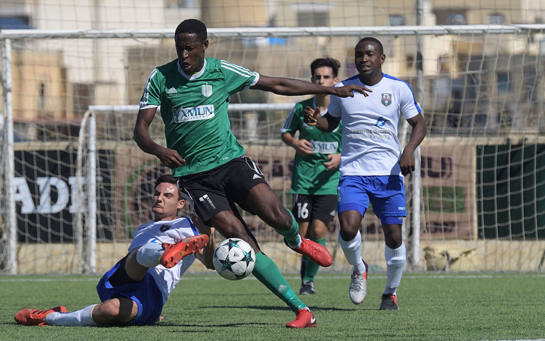 Xaghra earn the first point with a last gasp goal