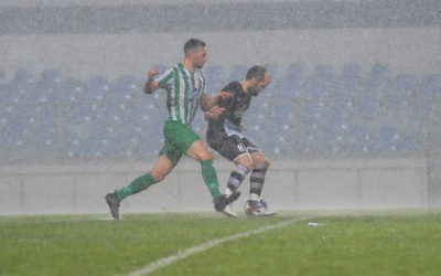 Ghajnsielem, Kercem match abandoned due to heavy rain