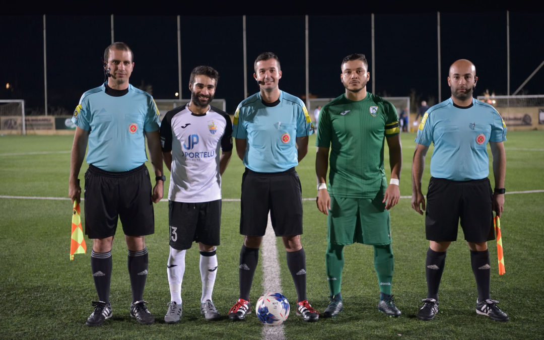 Nadur obtain qualification with three goals scored in each half