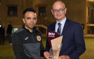 BOV GFA Player of the Month for November 2018