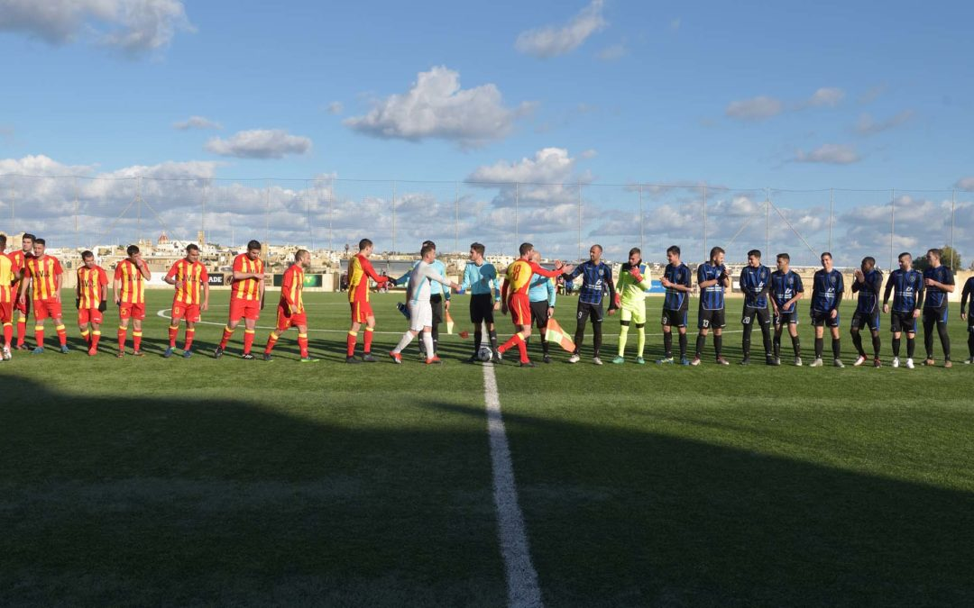 Xaghra obtain a close win in their last match of the second round