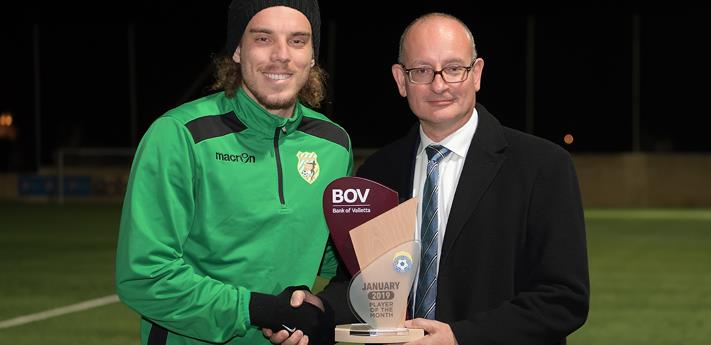 BOV GFA Player of the Month for January 2019