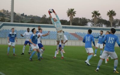 Gharb, SK Victoria Wanderers share four goals