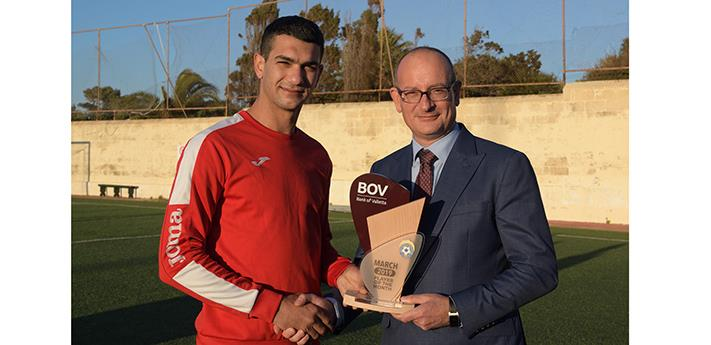 BOV GFA Player of the Month for March 2019