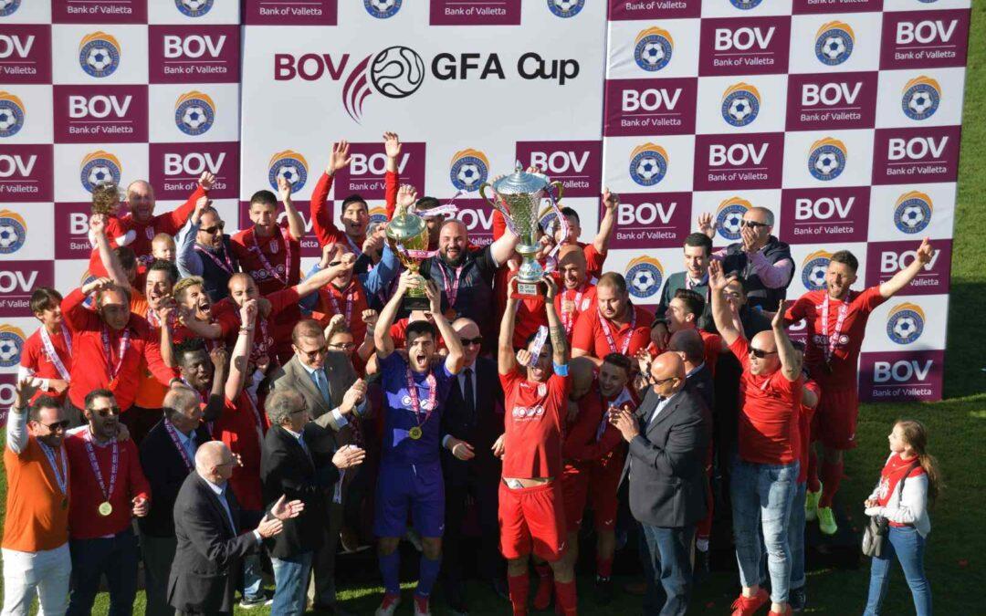Victoria Hotspurs win BOV GFA Cup