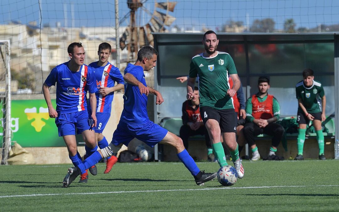 Sannat retain a two-point lead over their challengers for promotion
