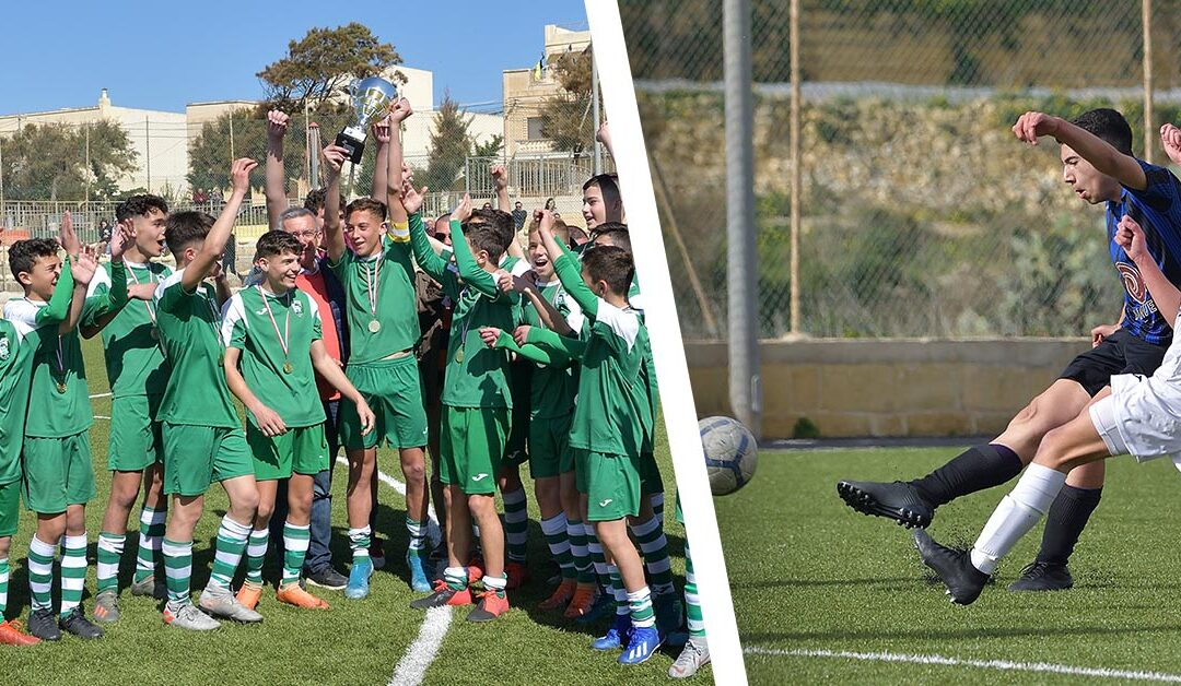 Oratory Youths Under 15 team champions