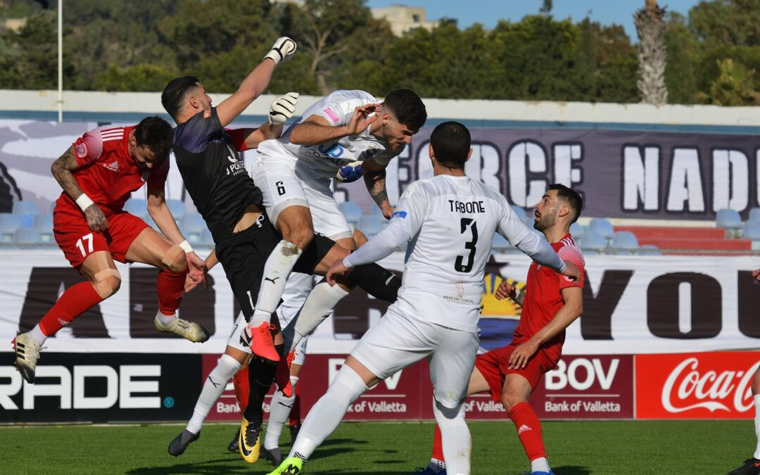 Nadur join the top positions with a close win